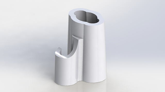 Hose Shut-Off Clamp Render